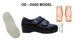 Ekstra Geniş ve Derin Diyabetik Ayakkabı Bayan OD-DG05