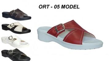 Tam Ortopedik Bayan Terlik Model Ort 05