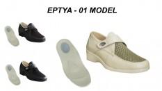 Topuk Dikeni Ortopedik Bayan Yazlık Ayakkabı EPTYA-01