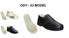 Yazlık Deri Diyabet Ayakkabı Erkek Model ODY-53