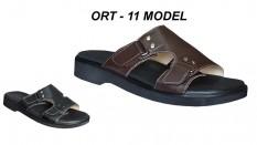 Erkek Ortopedik Deri Terlik Model ORT-11