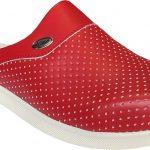 Erkek-Kırmızı-Deri-Delikli-Sabo-Terlik-HD666k