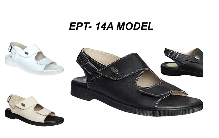 Erkek Topuk Dikeni Sandalet Modeli EPT-14A