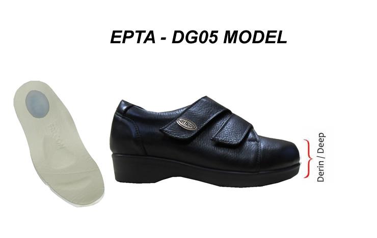 Bayan Topuk Dikeni Ayakkabisi Şiş Ayaklar EPTA-DG05
