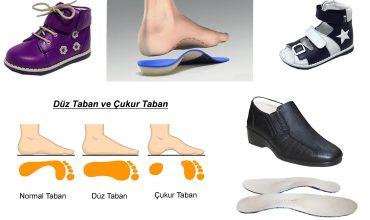 Düz ve Çukur Taban Ayakkabılar
