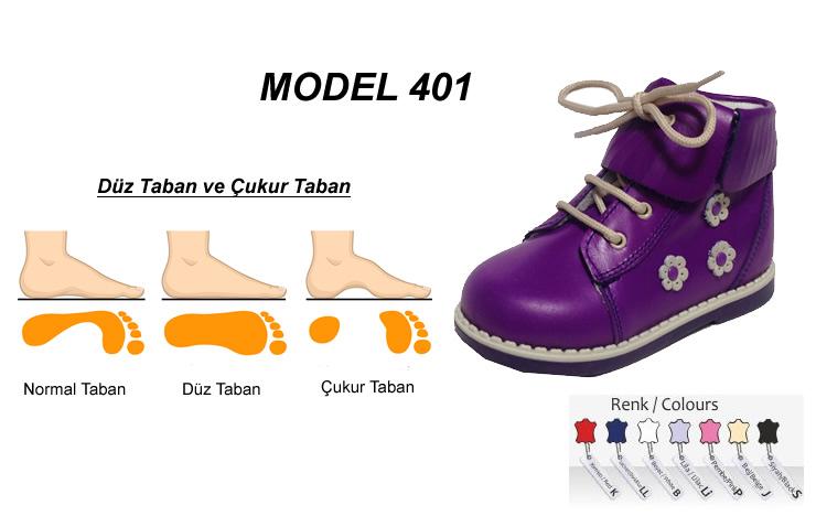 Düz Taban Yüksek Çocuk Botu Model 401