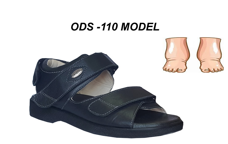 Diyabet Sandaleti Erkek Model ODS-110