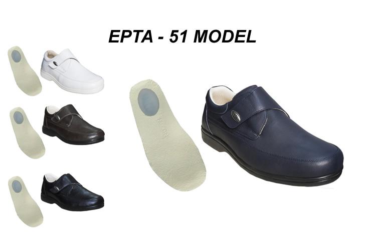 Erkek Topuk Dikeni Ayakkabisi Cırtlı Model EPTA-51
