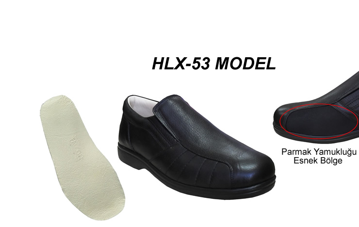 Halluks Valgus Parmak Yamuklugu Ayakkabi Erkek HLX-53