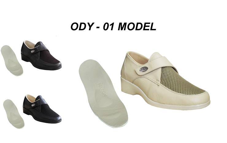 Yazlık Diyabet Ayakkabısı Bayan ODY-01